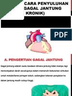 Satuan Acara Penyuluhan Adhf (Gagal Jantung Kronik