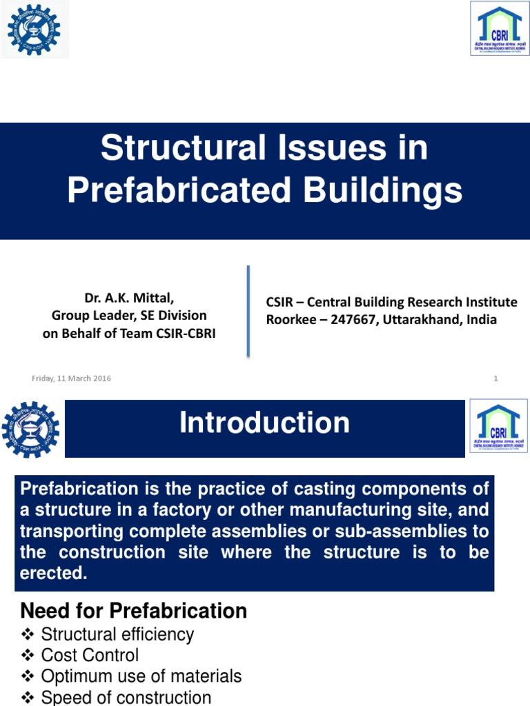 Dr -AK-Mittal pdf | Precast Concrete | Column
