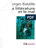 Georges Bataille-Litterature Et Le Mal-Gallimard (1990)