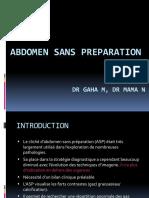 ABDOMEN SANS PREPARATION.pptx