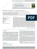 Nitrification of vegetable waste using nitrifying bacteria.pdf