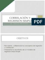 Correlación y Regresión Simple