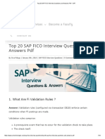 Top 20 SAP FICO Interview Questions and Answers PDF - SVR
