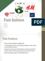 Fast Fashion PPT