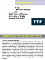 Chapter - 11 Financial Statement Analysis