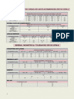 GENERAL TOLERANCES FOR LINEAR AND ANGULAR DIMENSIONS (UNI ISO 22768-1)