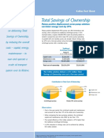 Total Savings of Ownership Fact Sheet