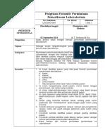 1. SPO Pengisian Form Pemeriksaan Lab