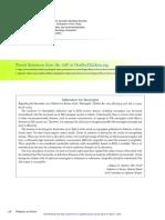 Addendum for Meningitis (Pediatr Rev, 2016)