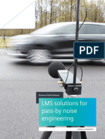 Siemens PLM LMS Solutions for Pass by Noise Engineering