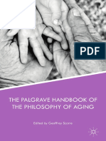 The Palgrave Handbook of the Philosophy of Aging