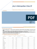 Increasing Density in Metropolitan Cities of India