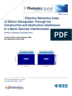Analysis of the Effective Refractive Index