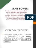 Corporate Powers