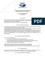 Regolamento Selezioni MBA IX