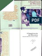 Livro a Inquietação Do Discurso - Denise Maldidier