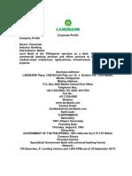 i. Landbank Corporate Profile