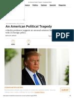 An American Political Tragedy – Handelsblatt Global