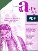 Al Pie de La Letra No. 12