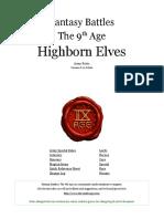 9TH AGE Highborn Elves 2015.pdf