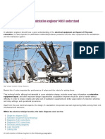 7 Design Diagrams That HV Substation Engineer MUST Understand _ EEP