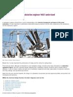 7 Design Diagrams That HV Substation Engineer MUST Understand _ EEP