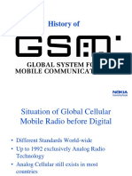 History & GSM Introduction