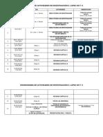 Cronogramalisto 2017-II Investigacion II