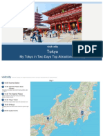 Tokyo My Tokyo in Two Days Top Attractions Itinerar