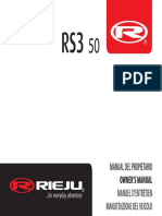 Owners Manual Rs3 50 Esp-fra-Eng-it