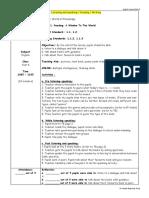 Sample Lesson Plan KSSR
