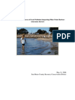 Fecal Pollution Impacting Pillar Point Harbor