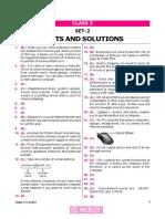 Nco Level2 Solution Class 3 Set 2