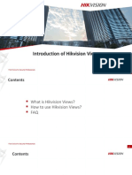 Hikvision Views Introduction