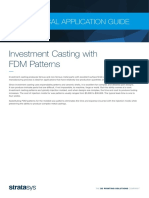 Tech App Guide - Investment Casting With FDM Patterns en A4
