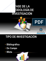 GRUPO # 3 Tipos de Investigacion Tigua Joel