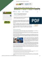 Revista HSEC - Modelo de Seguridad Conductual