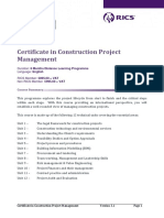 Certificate in Construction Project Management 280917 Lp