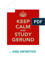 Guide to the Gerund and Infinitive Use