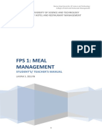 Completehandouts for Mealmgt
