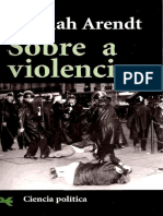 Sobre a Violência - Hanna Arendt