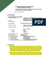 Informe Especifico Nº001- De Avance de Actividad Rio Chancay