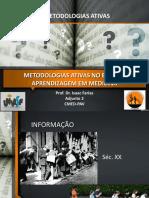 Metodologias Ativas Aula 2017.2