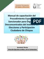Manual de Capacitación Del Procedimiento Especial Sancionador.reviSADO