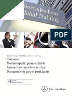 Camiones · Módulo Especial Parametrizable · Parametrizaciones Básicas · Run Documentación Para El Participante