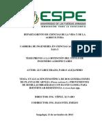 Tesis Evaluación Fenotípica de Dos Generaciones de Plantas de Arveja Provenientes de Semillas Irradiadas Con Rayos Gamma
