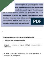 Registros e Niveis de Linguagem Atual