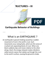 Earthquake Theory 3rd Year