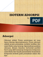 ISOTERM ADSORPSI