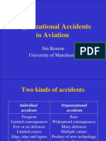 Organisational Accidents Reason